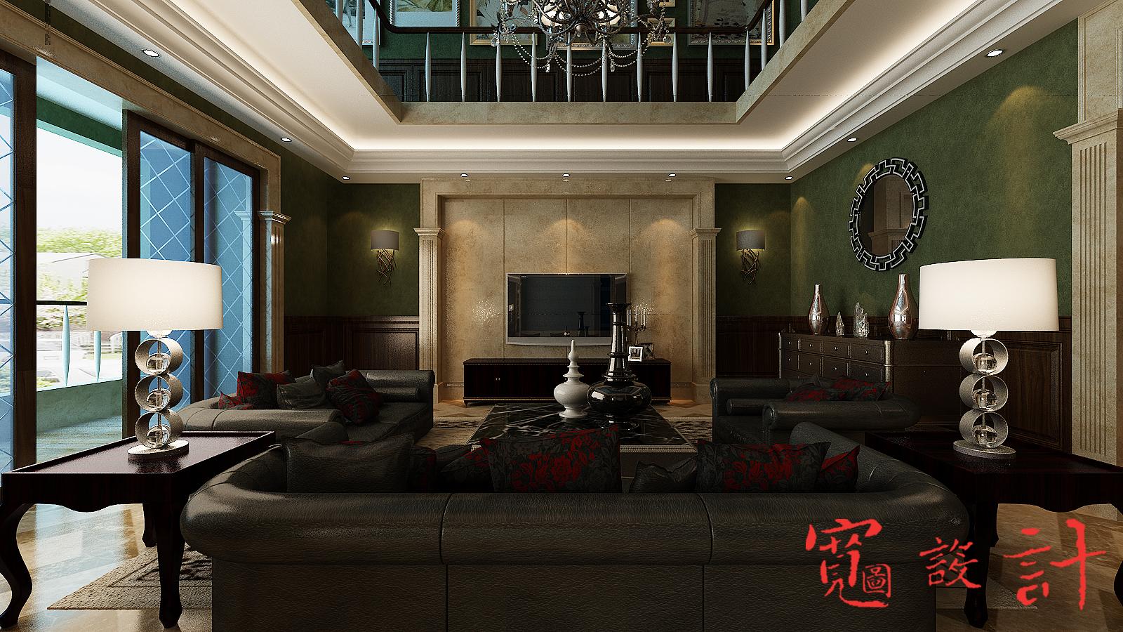 欧式 混搭 客厅图片来自宽图设计-裴啸在住宅的分享