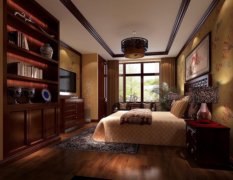 卧室图片来自吴灿在传统中式的现代做法的分享