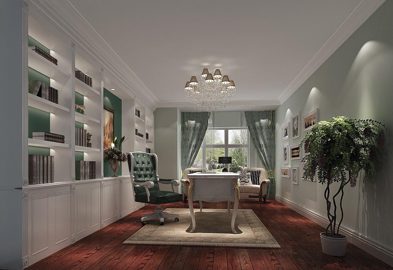 简约 中式 三居 白领 白富美 小清新 屌丝 高富帅 书房图片来自高度国际装饰舒博在四合上院、简约中式的分享