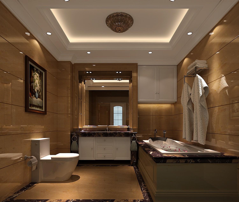 简约 中式 三居 白领 白富美 小清新 屌丝 高富帅 卫生间图片来自高度国际装饰舒博在四合上院、简约中式的分享