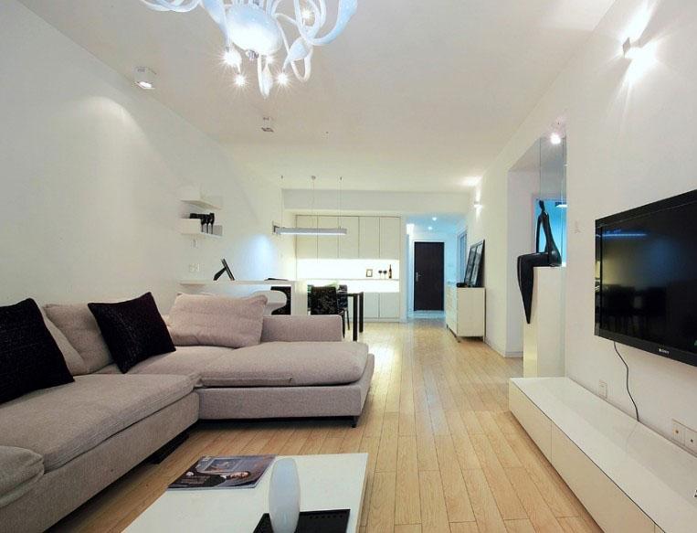 简约 三居 客厅图片来自张喜庆君殿下在纯色世界的分享