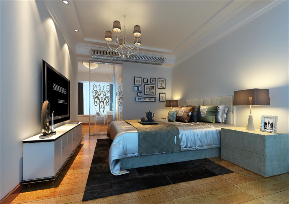 欧式 卧室图片来自深圳市浩天装饰在阅山华府的分享