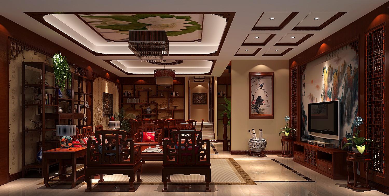 客厅图片来自吴灿在传统中式的现代做法的分享