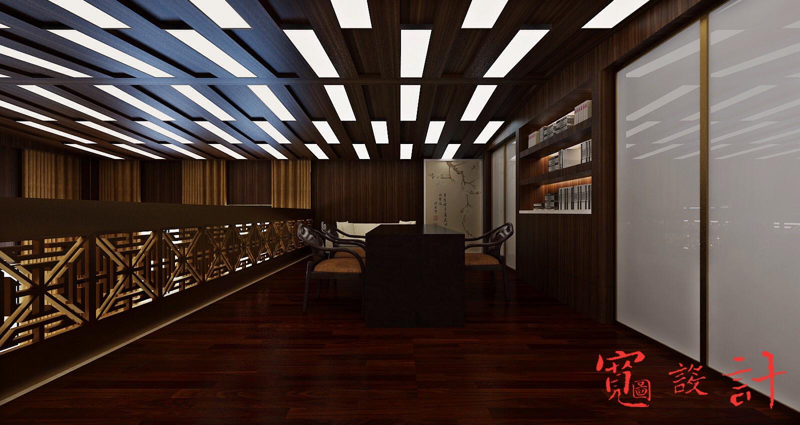 书房图片来自宽图设计-裴啸在会所的分享