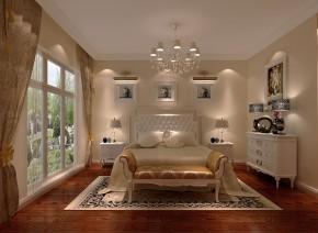 简约 中式 三居 白领 白富美 小清新 屌丝 高富帅 卧室图片来自高度国际装饰舒博在四合上院、简约中式的分享