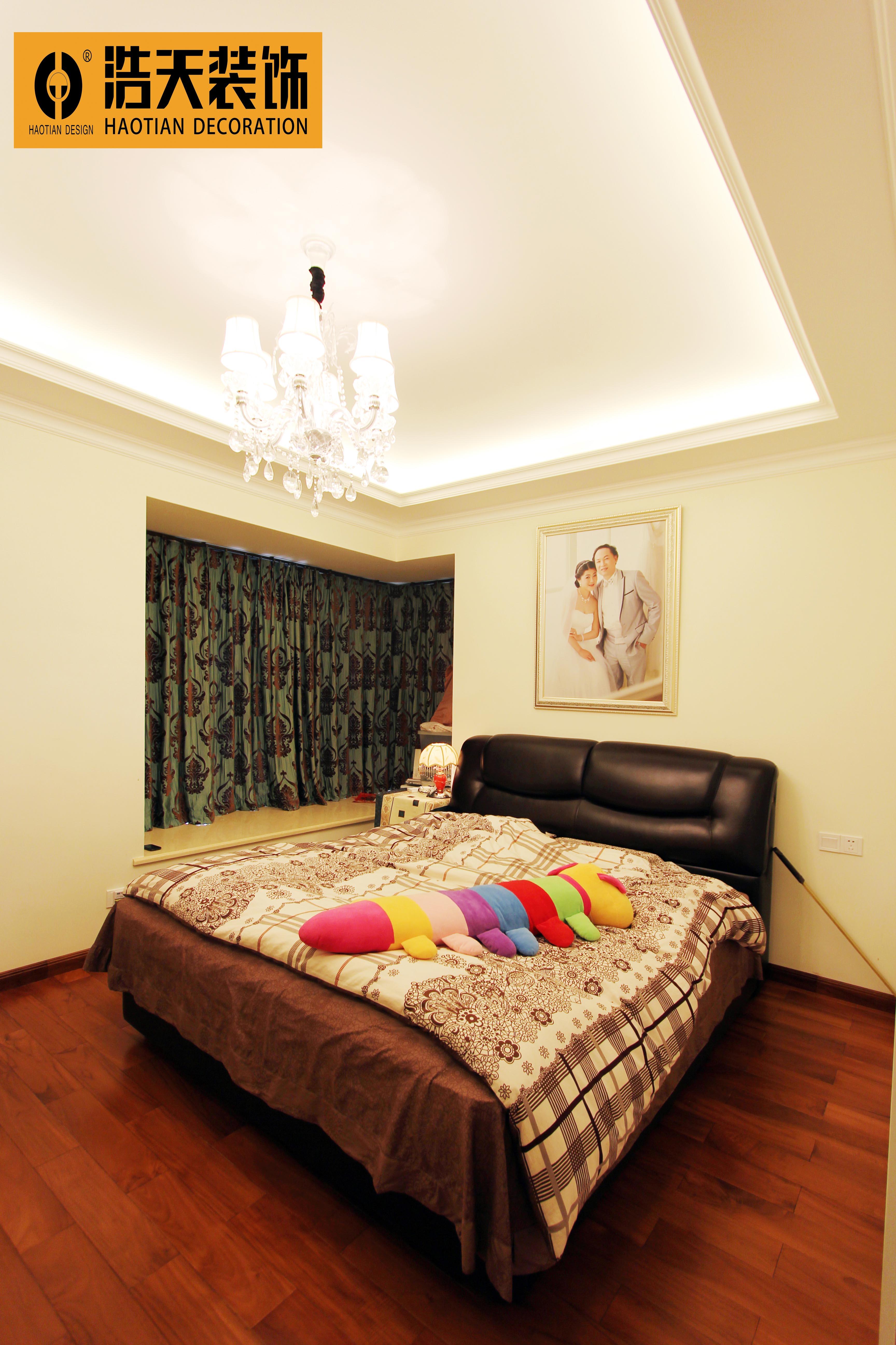卧室图片来自深圳市浩天装饰在幸福海岸的分享