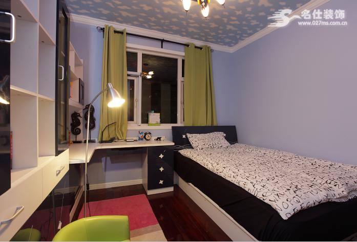 名仕装饰 美式 三居室 卧室图片来自名仕装饰龚经理在银泰御华园的分享