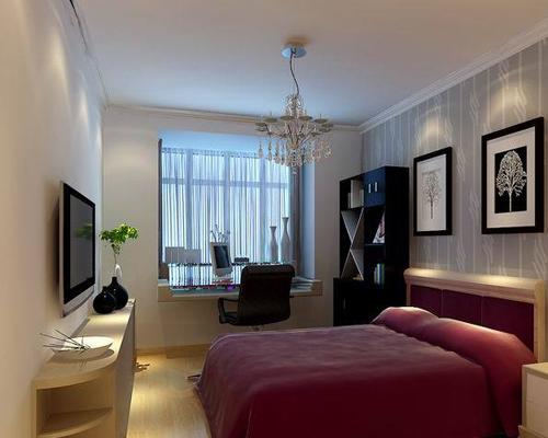 简约 三居 白领 80后 小资 卧室图片来自用户2785326141在甜美三居室的分享