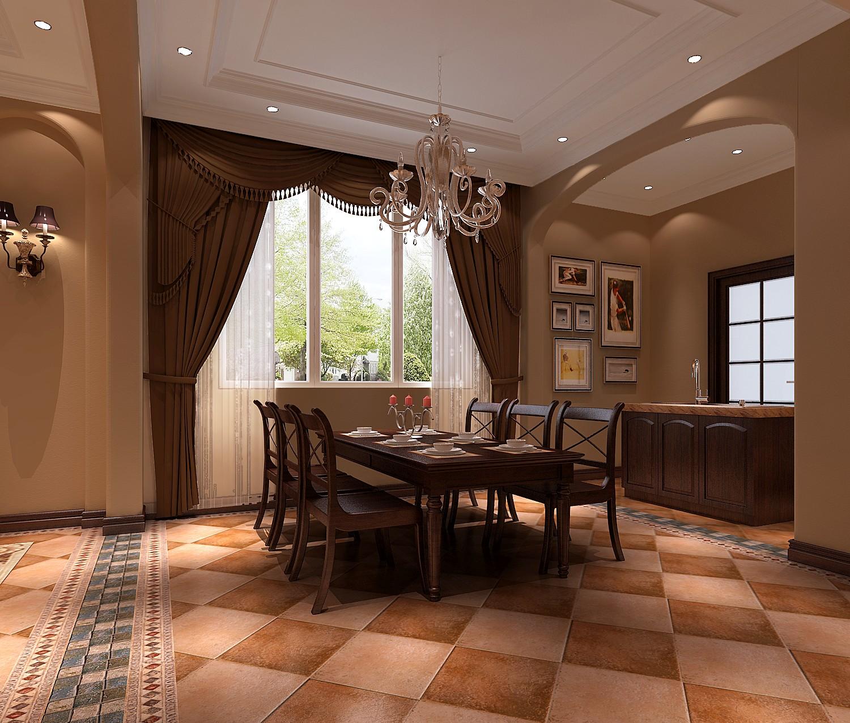 托斯卡纳 四室 小资 80后 收纳 别墅 餐厅图片来自沙漠雪雨在14.8万打造托斯卡纳四居的分享
