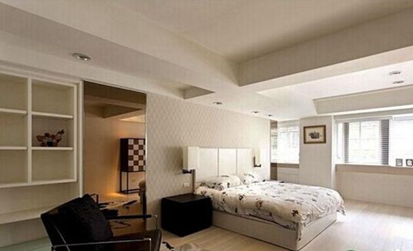 简约 卧室图片来自聚星堂装饰在保利花园二期的分享