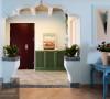 希腊地中海风格的家居,以纯美的色彩、流畅的线条、自然的取材、明显的民族性深受人们喜欢。仿古地砖是朴实的大地色,些微的暖调赋予人踏实,安慰精神需求。