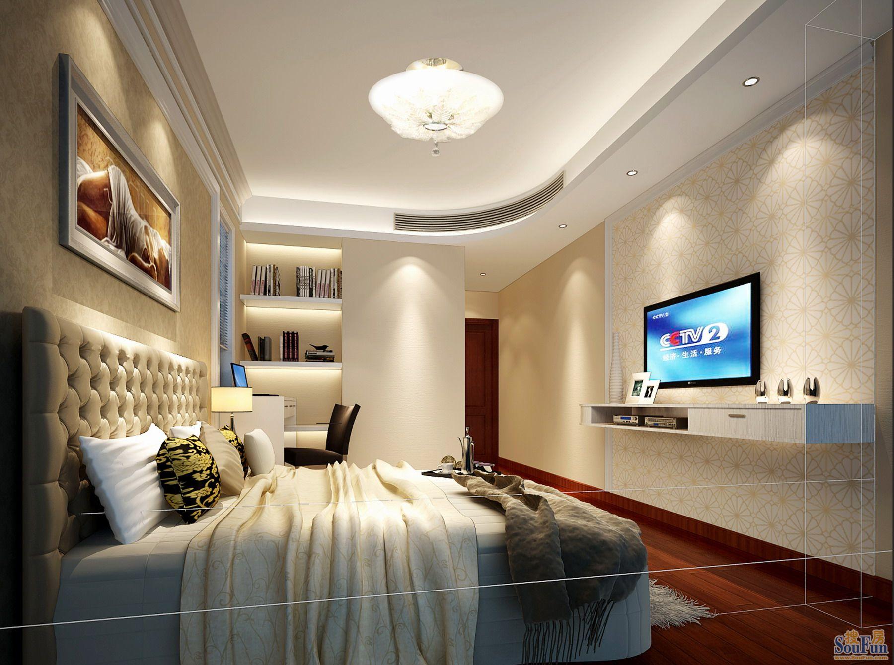 欧式 卧室图片来自深圳市浩天装饰在中海天逸的分享