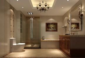三居 白领 欧式 简约 屌丝 白富美 高富帅 高度国际 卫生间图片来自高度国际装饰舒博在四合上院、古典欧式的分享