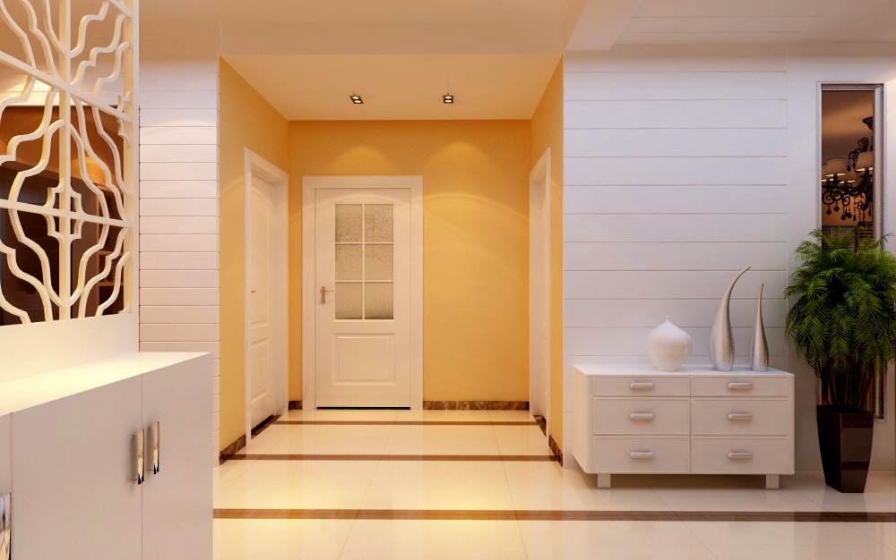 简约 三居 玄关图片来自用户2246468343在简约--名门华都小区三居室。的分享