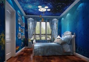 K2百合湾 高度国际 现代 简约 三居 二居 80后 白领 小清新 儿童房图片来自北京高度国际装饰设计在K2百合湾简欧公寓的分享