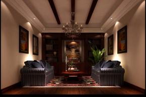 托斯卡纳 高度国际 欧式 别墅 三居 白领 80后 小资 高富帅 书房图片来自北京高度国际装饰设计在潮白河孔雀城托斯卡纳别墅的分享
