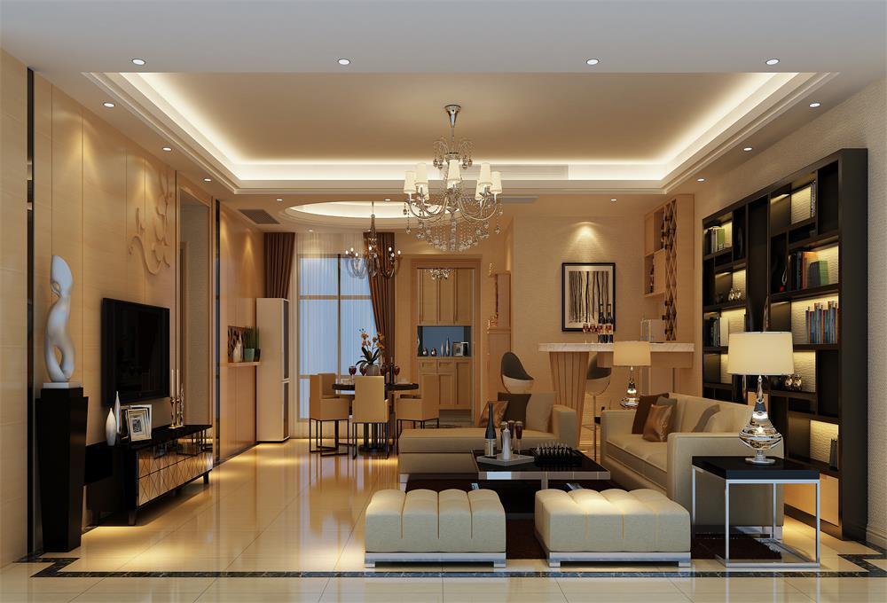 简约 客厅图片来自深圳市浩天装饰在振业城的分享