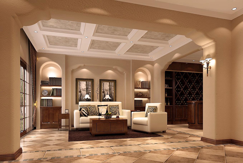 别墅 白领 小资 托斯卡纳 客厅图片来自沙漠雪雨在22万打造托斯卡纳风格五口之家的分享