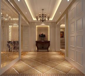 三居 白领 欧式 简约 屌丝 白富美 高富帅 高度国际 玄关图片来自高度国际装饰舒博在四合上院、古典欧式的分享
