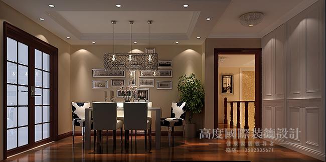 北欧极简 跃层 小资 餐厅图片来自天津高度国际装饰设计在逸品轩~北欧极简的分享