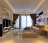 金域蓝湾复式楼装修效果图郑州最好的装饰公司业之峰装饰【金域蓝湾设计客厅设计效果图】