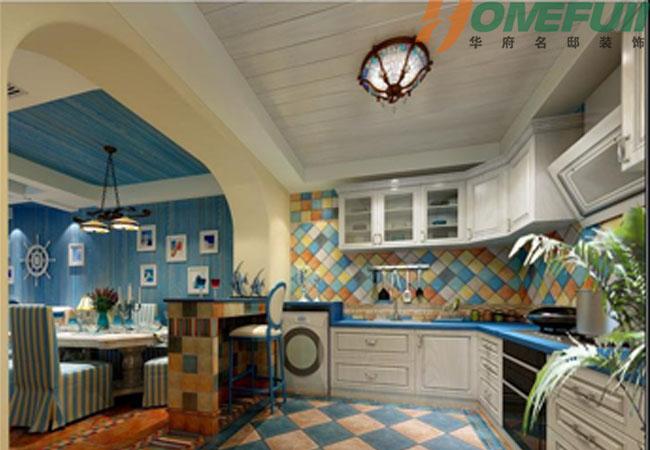 混搭 田园 别墅 客厅 卧室 厨房图片来自华府_余悦在湛蓝天空 华府名邸装饰的分享