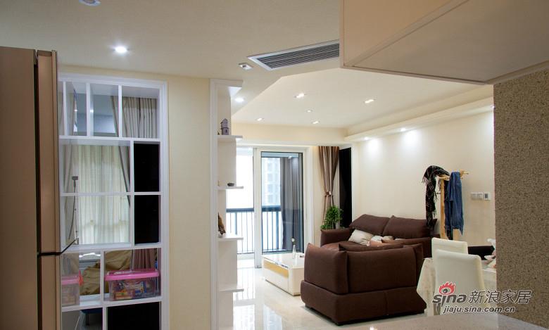 简约 二居 客厅图片来自张喜庆君殿下在时尚风的分享