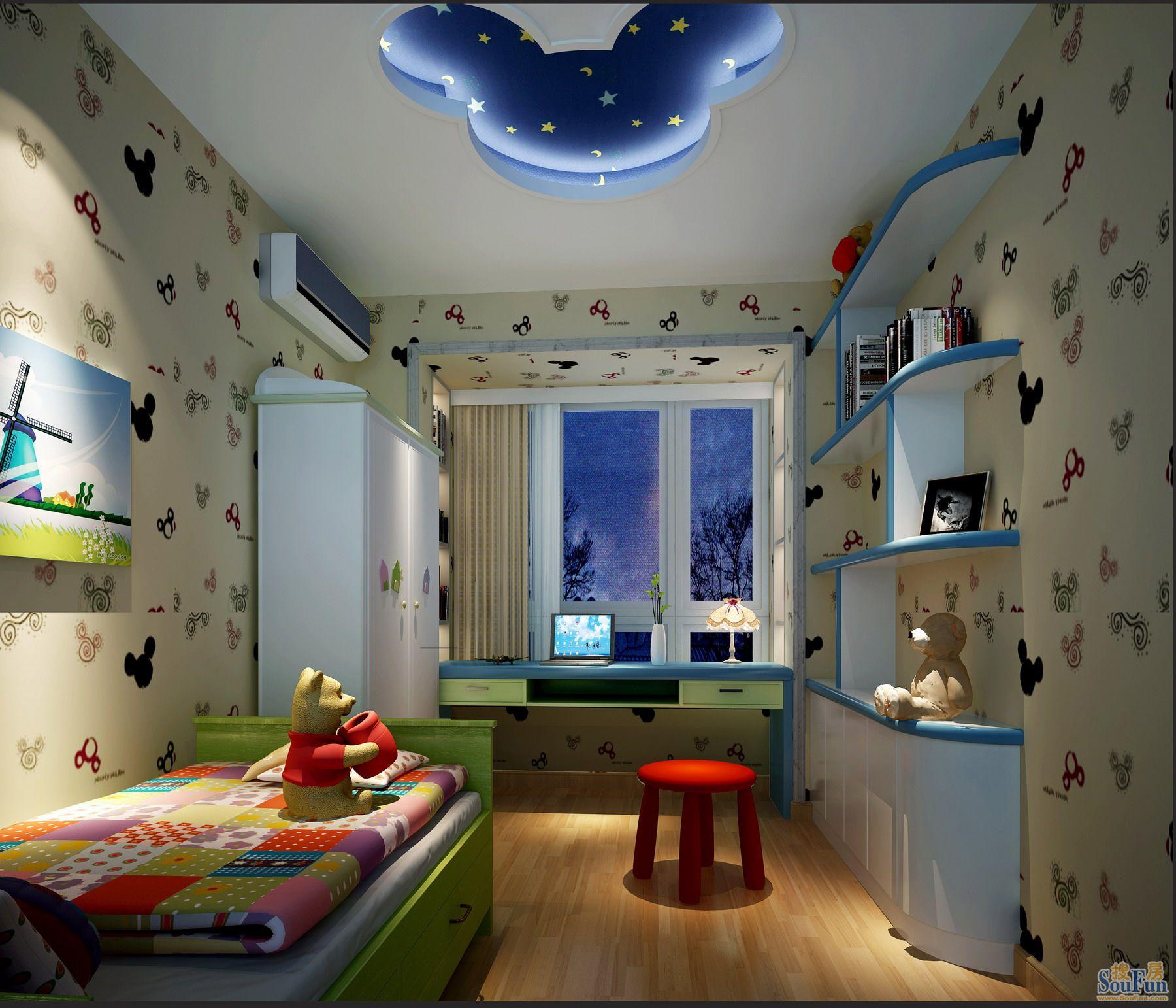 欧式 儿童房图片来自深圳市浩天装饰在中海天逸的分享