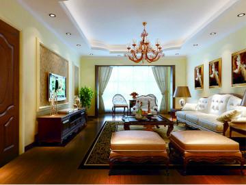 两居室欧式经典风格装修