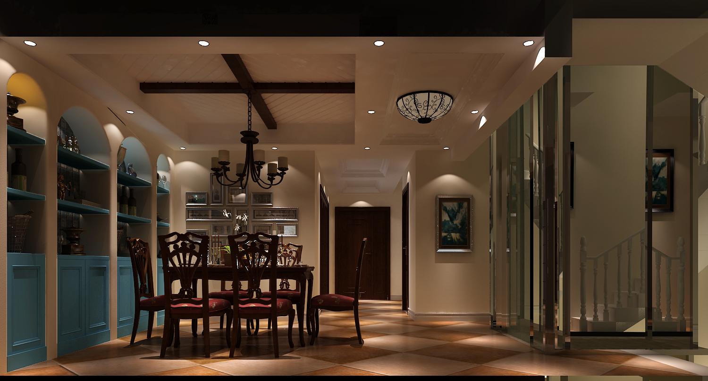 餐厅图片来自专业别墅设计工作室在潮白河孔雀城的分享