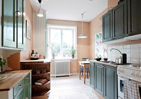 田园 三居 和平盛世 厨房图片来自合肥川豪装饰装修在和平盛世132平米田园风格的分享