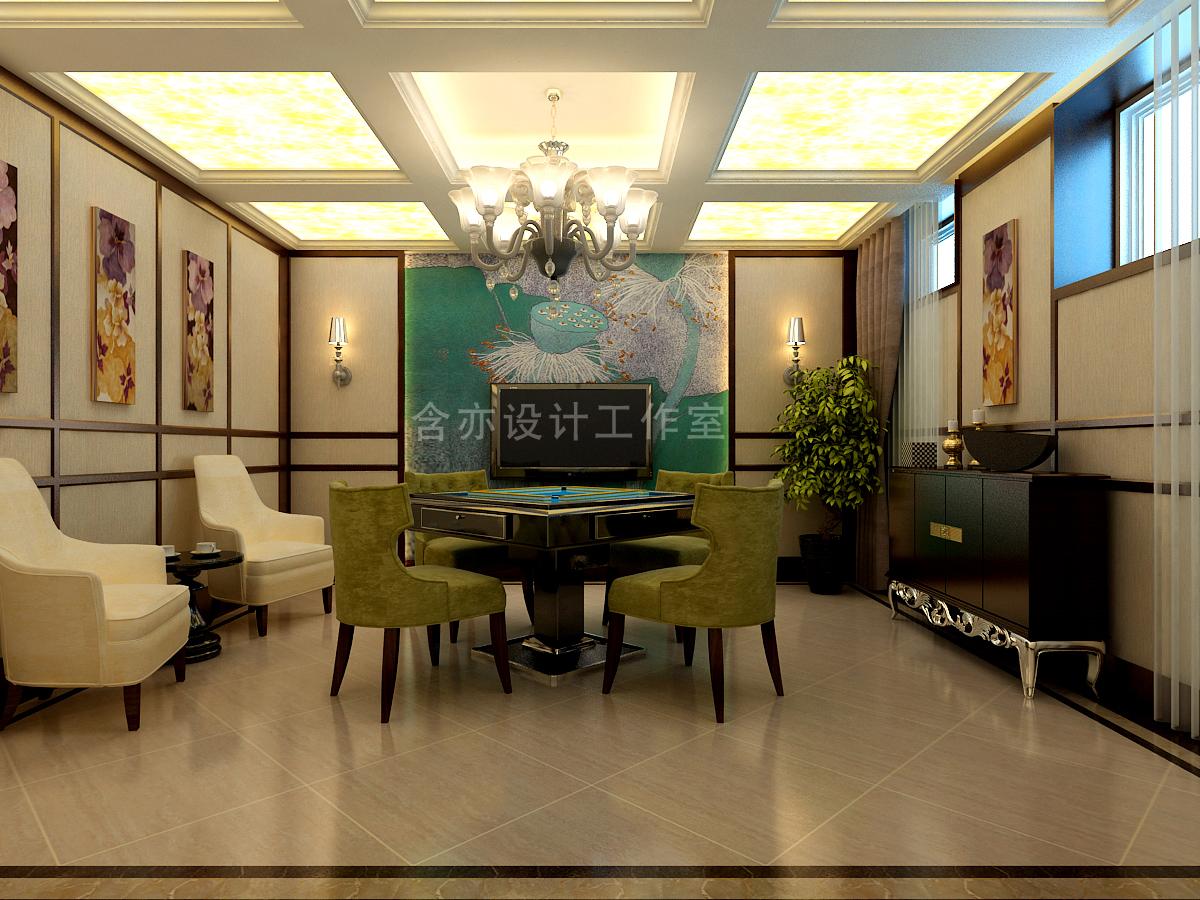 欧式 别墅 室内设计 太原设计师 其他图片来自王含亦在绛县别墅的分享