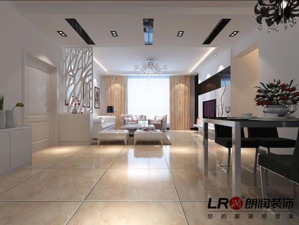 客厅是简约清雅的白色调为主,利用吊顶,利用家具,配饰,让整个空间一下子饱满了起来,家就是这样的,需要我们用心去把里面的内容填满