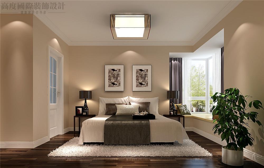 现代 装修 设计 三居 卧室 卧室图片来自高度国际别墅装饰设计在现代风格装修效果图的分享