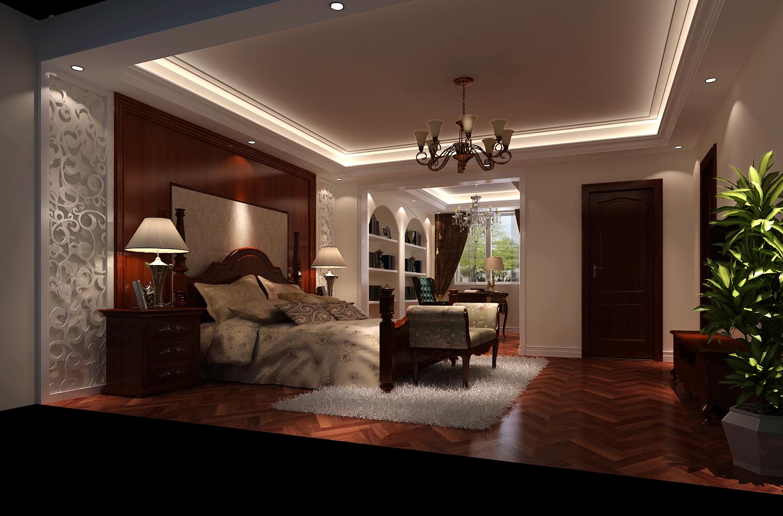 卧室图片来自专业别墅设计工作室在潮白河孔雀城的分享