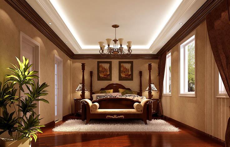 卧室图片来自专业别墅设计工作室在天竺新新家园的分享