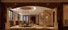 别墅 混搭 美式 欧式 奢华 舒适 玄关图片来自高度国际装饰韩冰在润泽墅郡美式欧式混搭打造奢华的分享