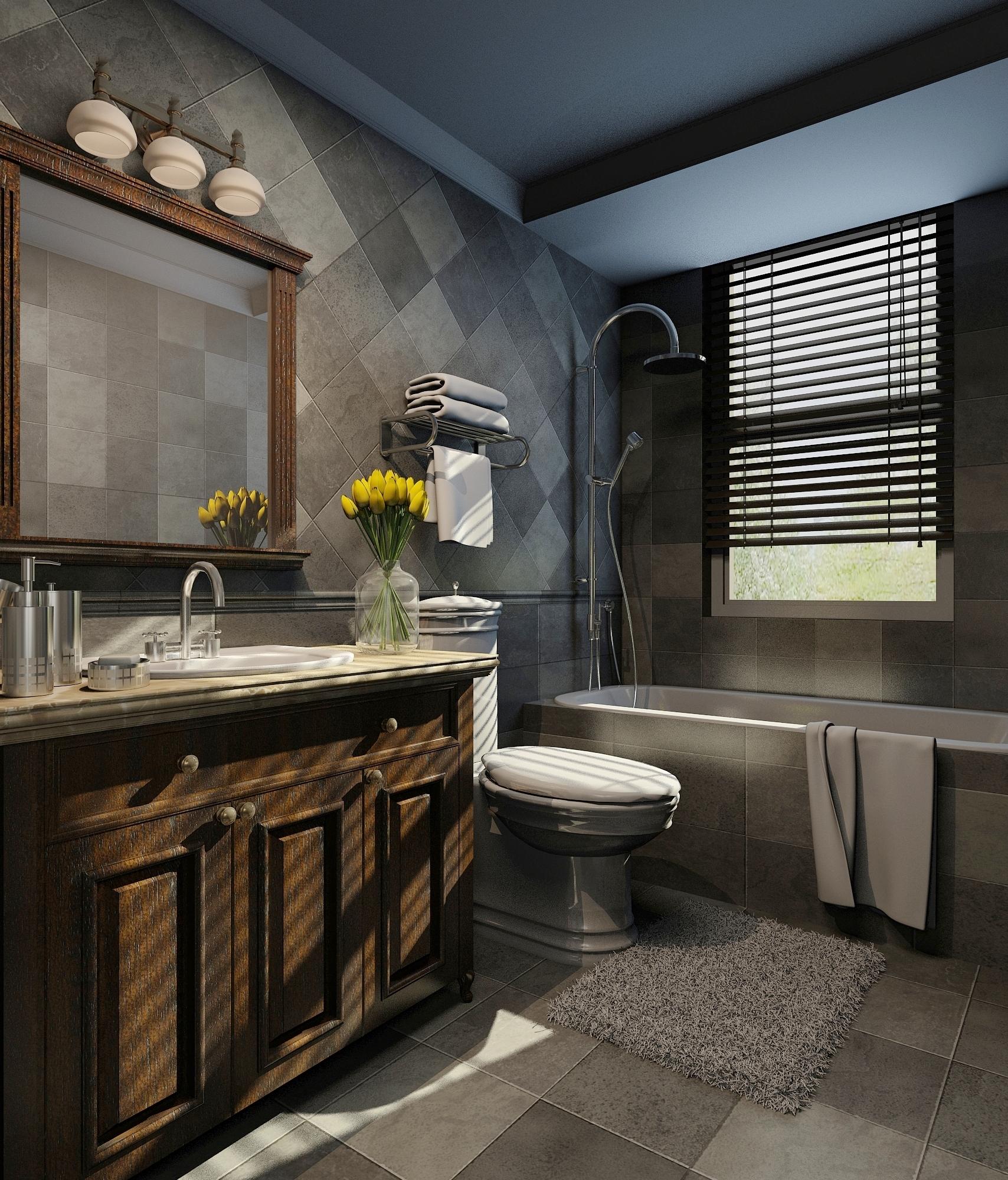 欧式 三居 小资 卫生间图片来自东易力天装饰在鑫苑世纪东城的分享