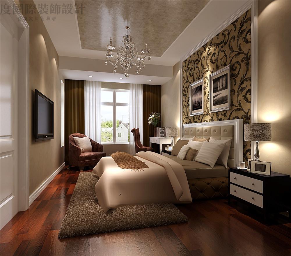 简欧 二居 装修 设计 收纳 卧室图片来自高度国际别墅装饰设计在海棠湾简欧设计的分享