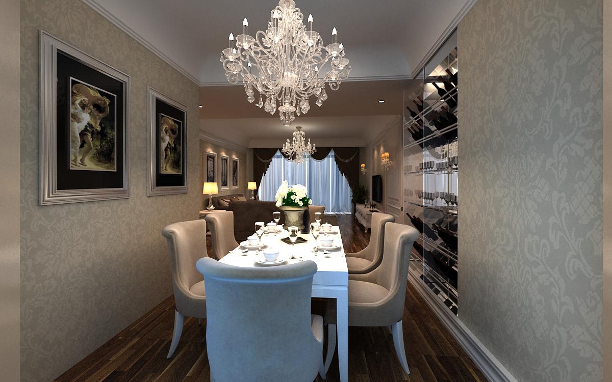 欧式 三居 小资 餐厅图片来自东易力天装饰在鑫苑世纪东城的分享