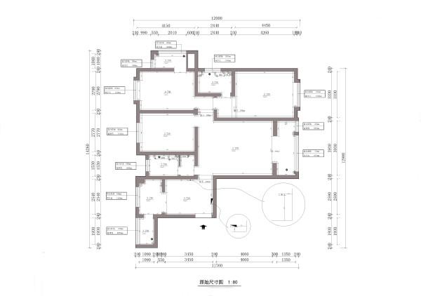 户型规整,布局合理   3个卧室2个卫生间1个客厅1个餐厅