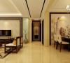 祥云国际146平三居室新中式设计