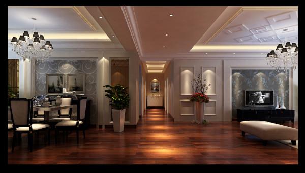 在现代时尚的居所中引入古典元素,现代与古典的强烈对比更好地烘托主题