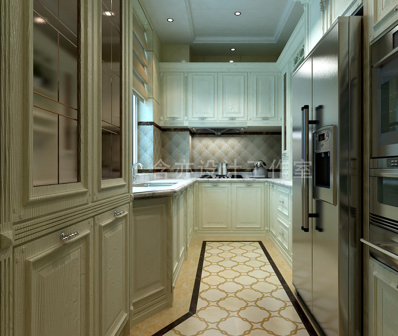 欧式 别墅 室内设计 太原设计师 厨房图片来自王含亦在绛县别墅的分享