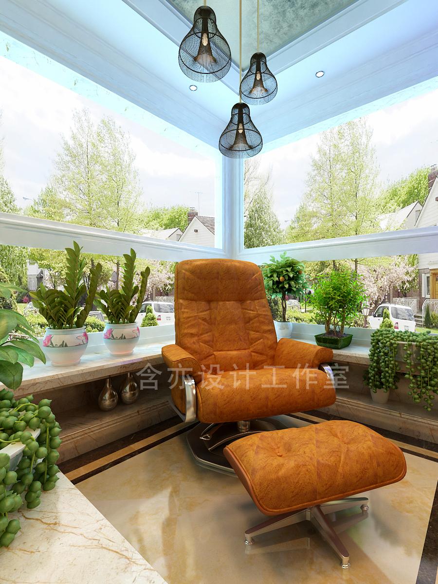 欧式 别墅 室内设计 太原设计师 阳台图片来自王含亦在绛县别墅的分享