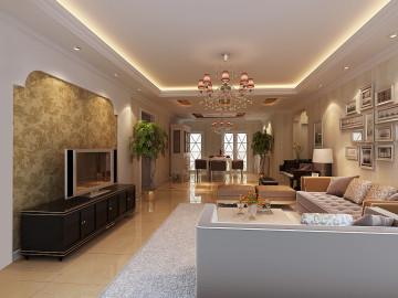 302小区150平现代简约三居室