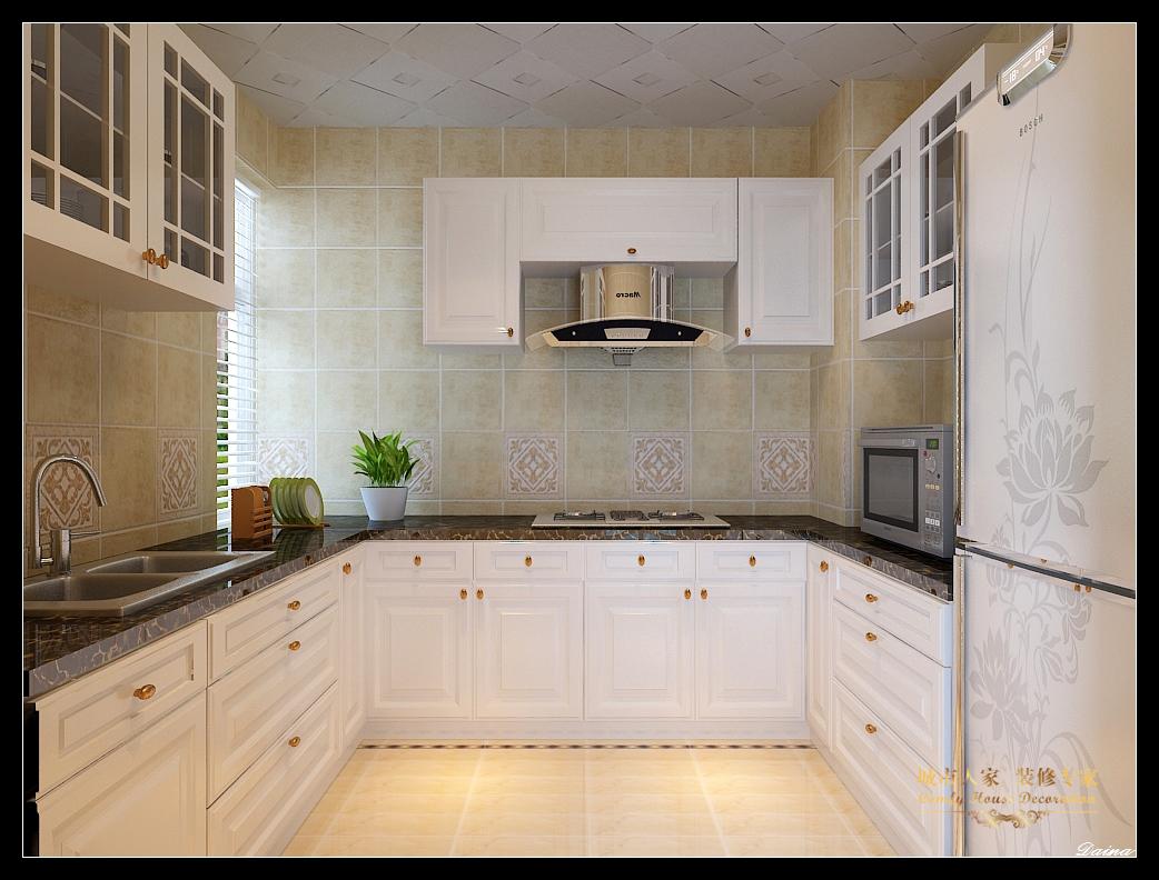 城市人家 太原装修 设计风格 新古典 厨房图片来自太原城市人家装饰在东唐花园—145平米设计的分享