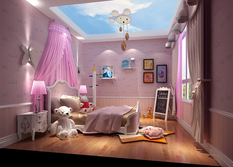欧式 三居 白领 80后 北京装修 高度国际 儿童房图片来自高度国际装饰华华在鲁能7号院欧式风格的分享