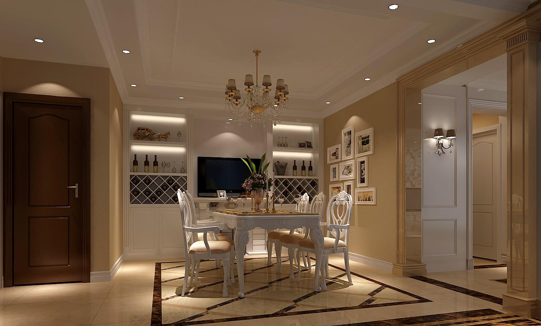 欧式 三居 白领 北京装修 高度国际 装修报价 餐厅图片来自高度国际装饰华华在旭辉御府欧式设计的分享
