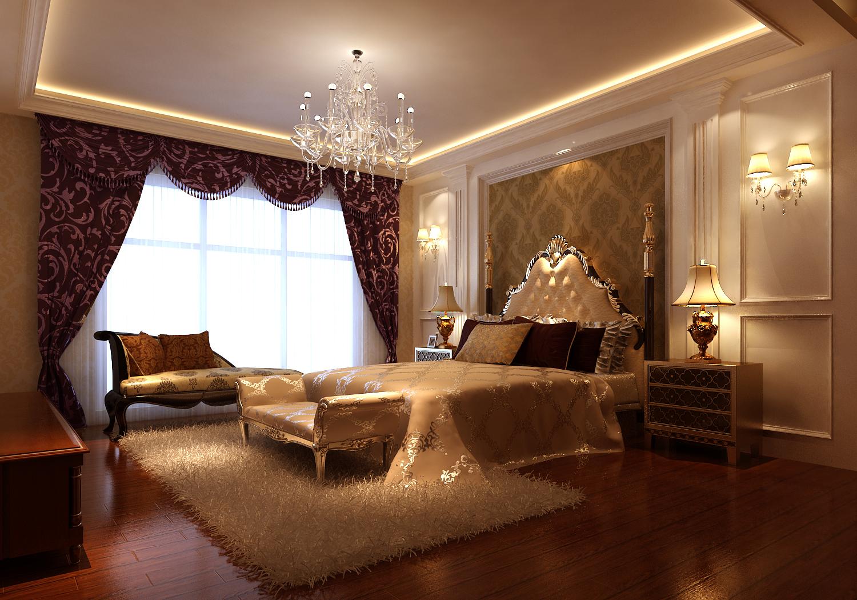 欧式 四居 公寓 白领 三居 北京装修 高度国际 装修报价 卧室图片来自高度国际装饰华华在鲁能欧式设计的分享